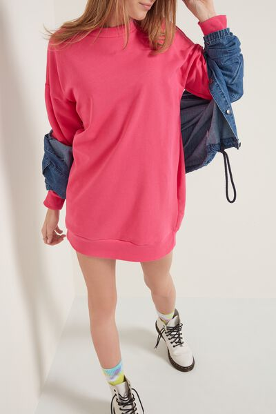 Oversize Long-Sleeved Sweatshirt