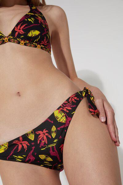 Bikinihose zum Binden Pop Tribe