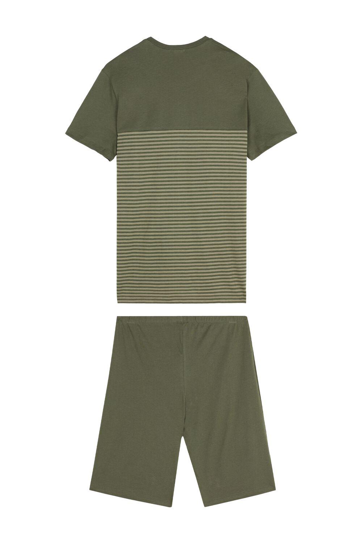 Pánske Krátke Pyžamo Small Stripes