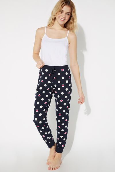 Long Printed Trousers