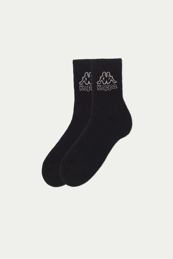 Nízke Bavlnené Ponožky s Logom Kappa