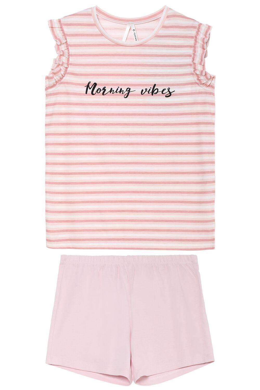 Pyjama Court Rayures Morning Vibes