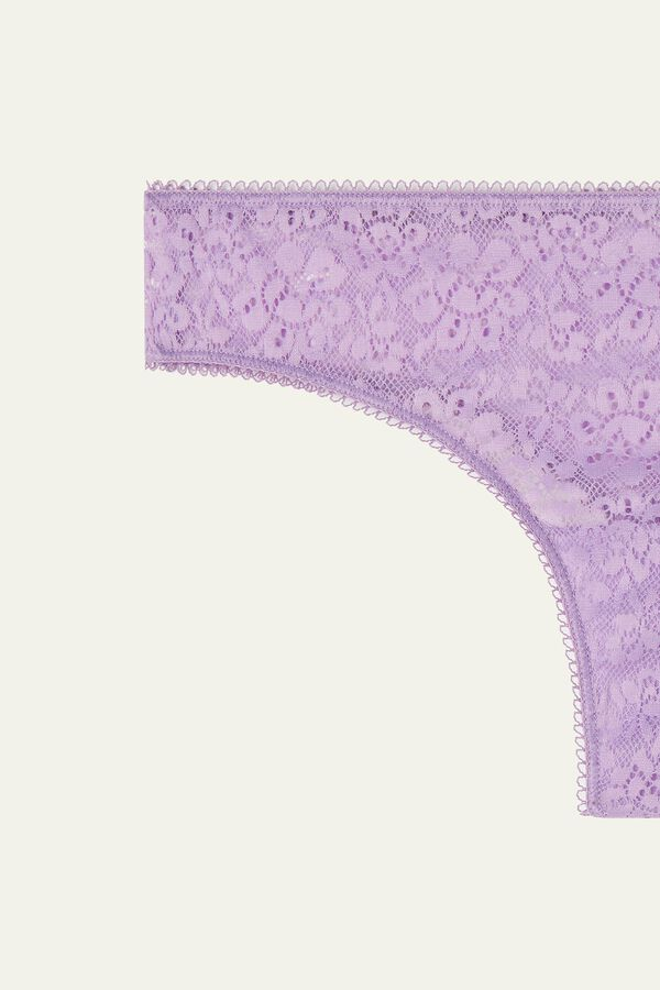 Recycled Lace Brazilian Panties