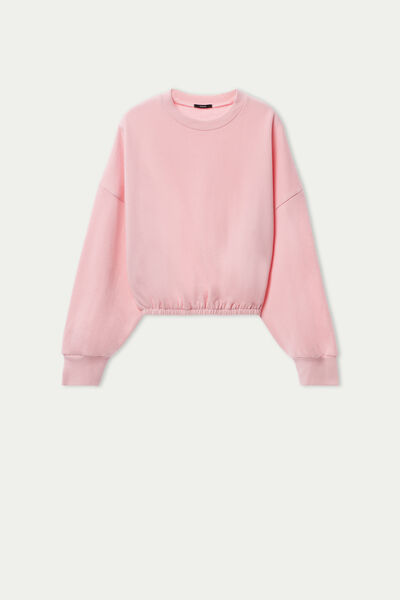Sweat Court Manches Oversize
