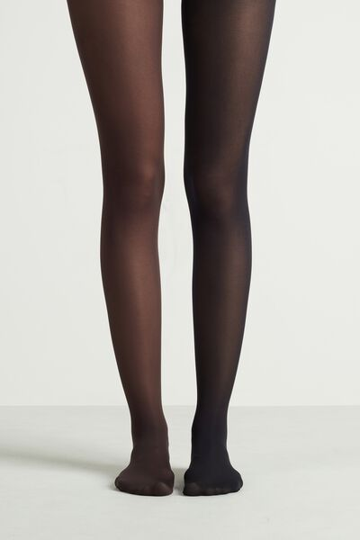 2 X 50 Den Opaque Microfibre Tights