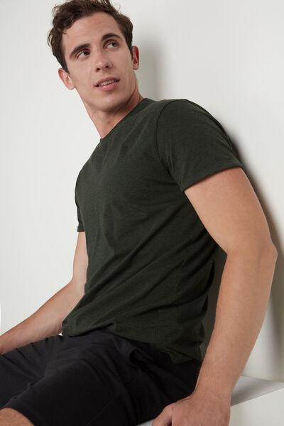 Cotton Jacquard T-shirt