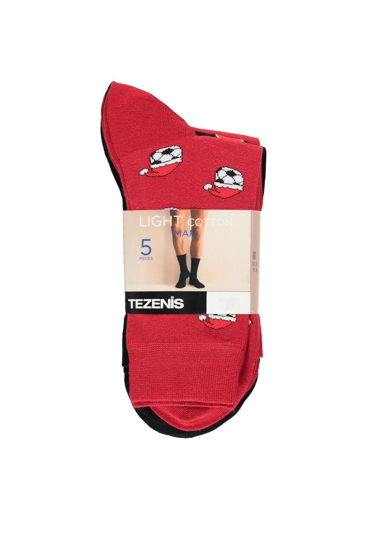 5 X Patterned Lightweight Cotton Sock