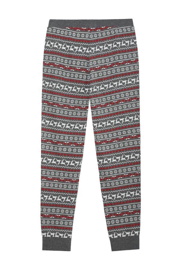 Pantalon Long Coton Imprimé