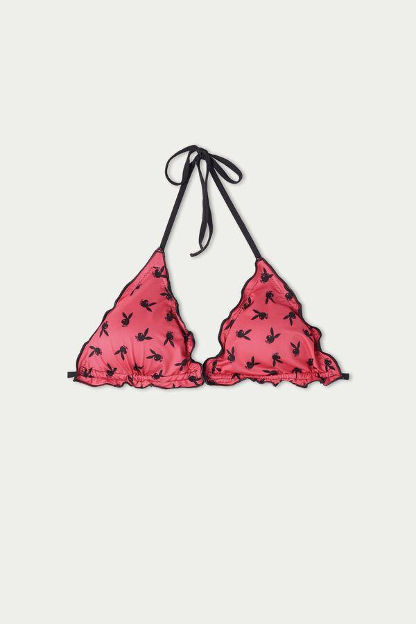 Playboy Triangle Bikini Top
