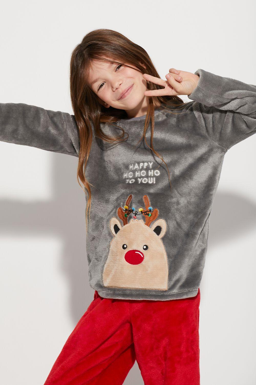 Long Reindeer Pyjamas