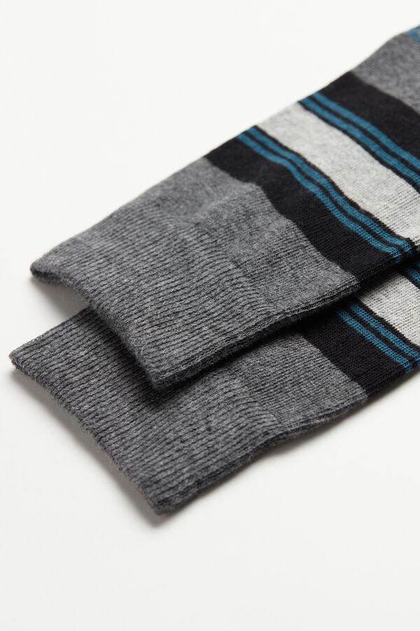 Λεπτές Εμπριμέ Βαμβακερές Μακριές Κάλτσες