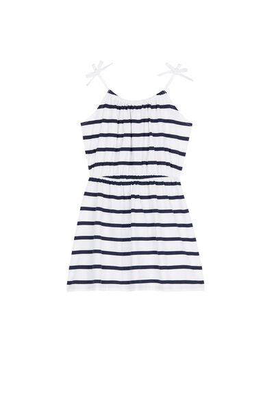 Striped Cotton Dress