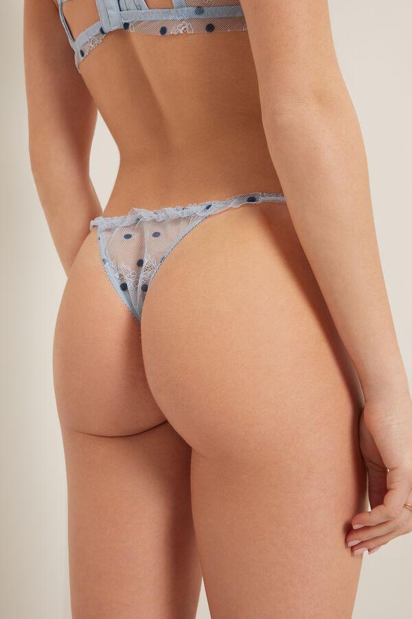 Angel Pois Side Strap Brazilian Panties