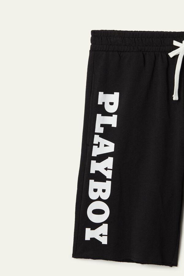 Short Fleece Playboy Shorts