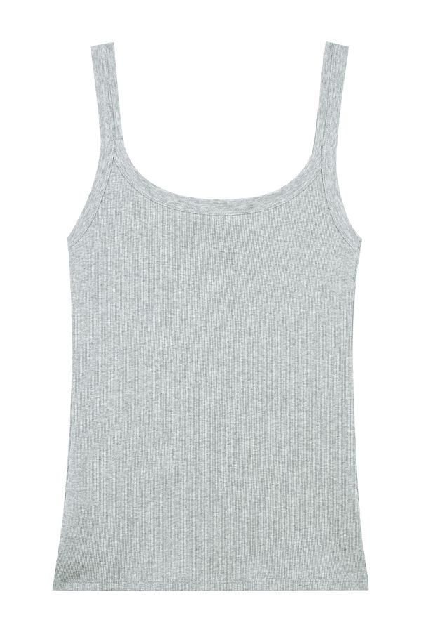 Cotton Ribbed Camisole