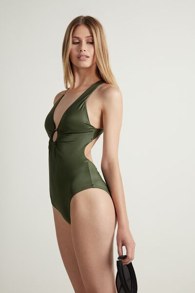 One-Piece Shine Swimsuit