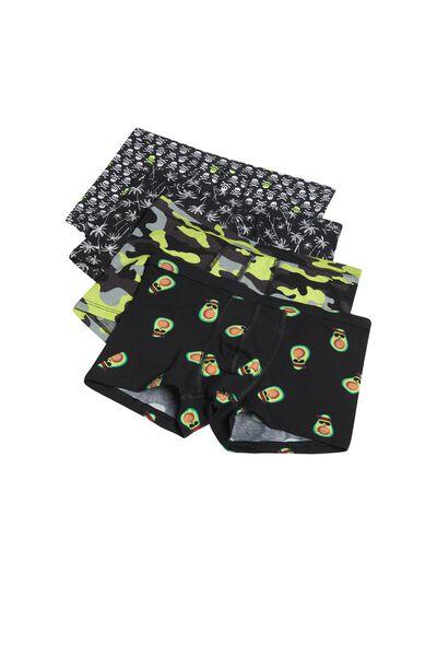 Pack 4 Boxers de Algodão Estampados
