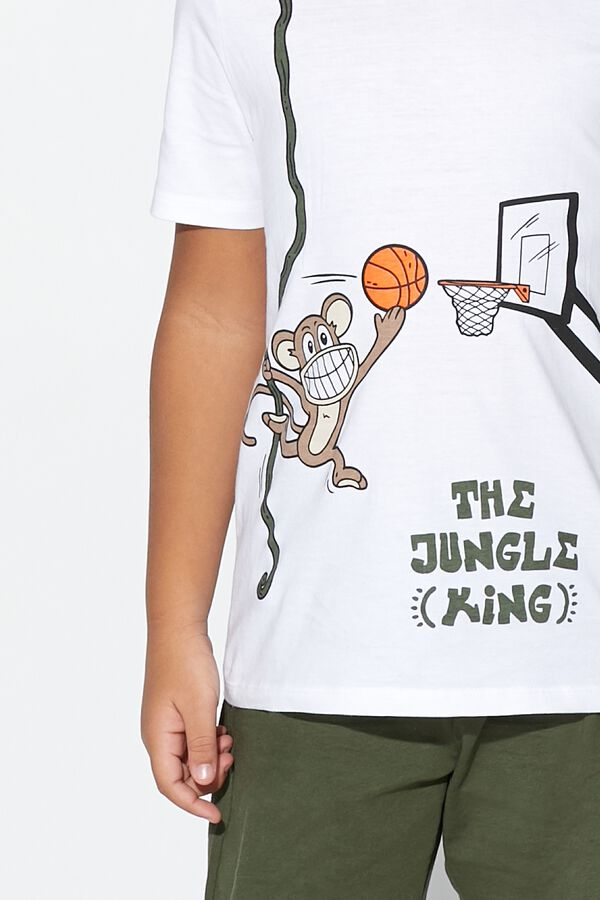 Short Jungle King Pyjamas