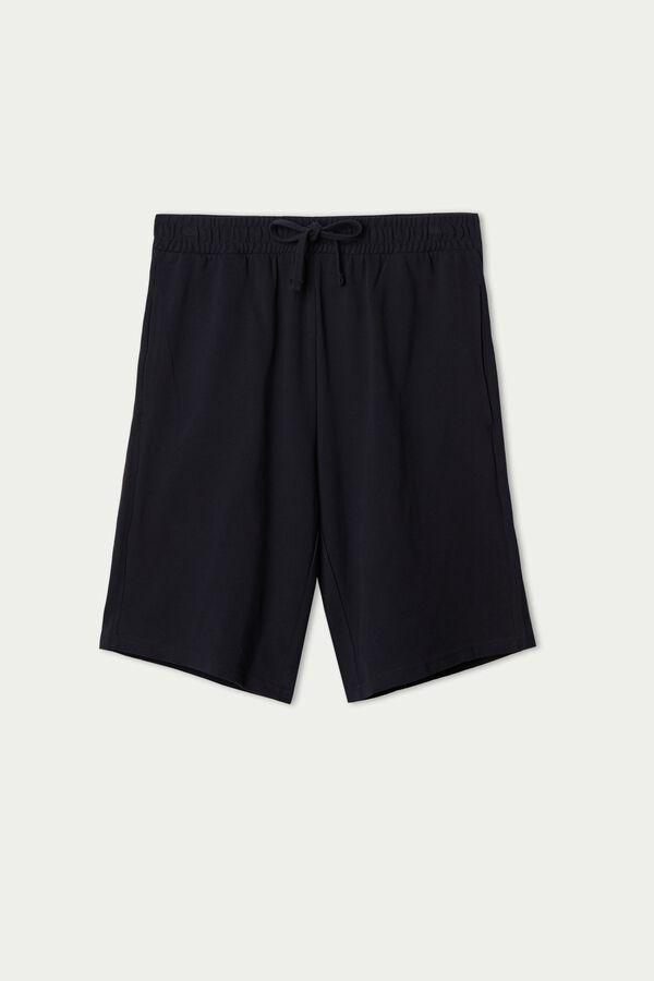 Cotton Piqué Shorts