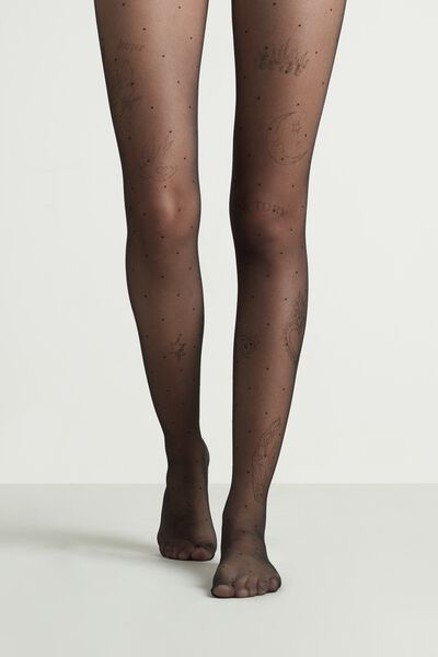 Party Tattoo Effect 20 Denier Tights