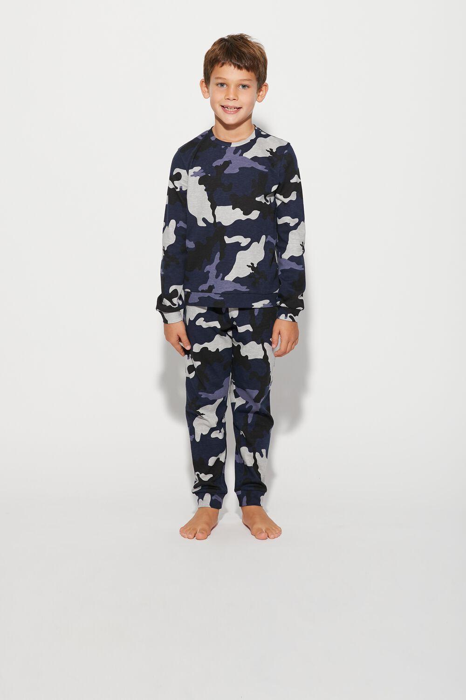 Long Camo Crash Pyjamas