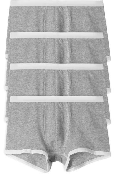 4 X Boxer Profili in Contrasto Colore Multipack