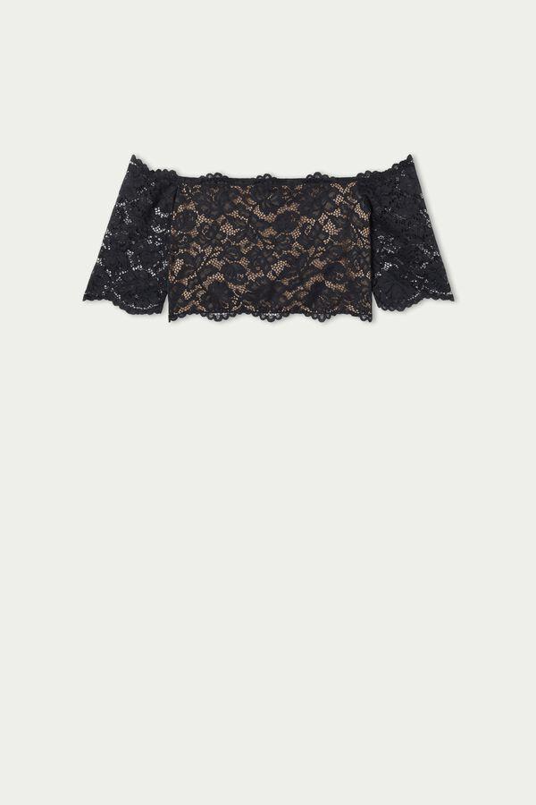 Short Romantic Lace Top