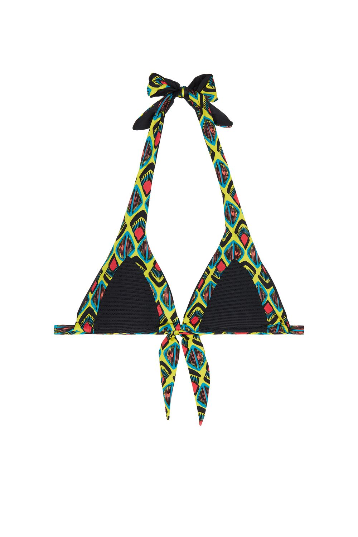 Pop Tribe Triangle Bikini Top