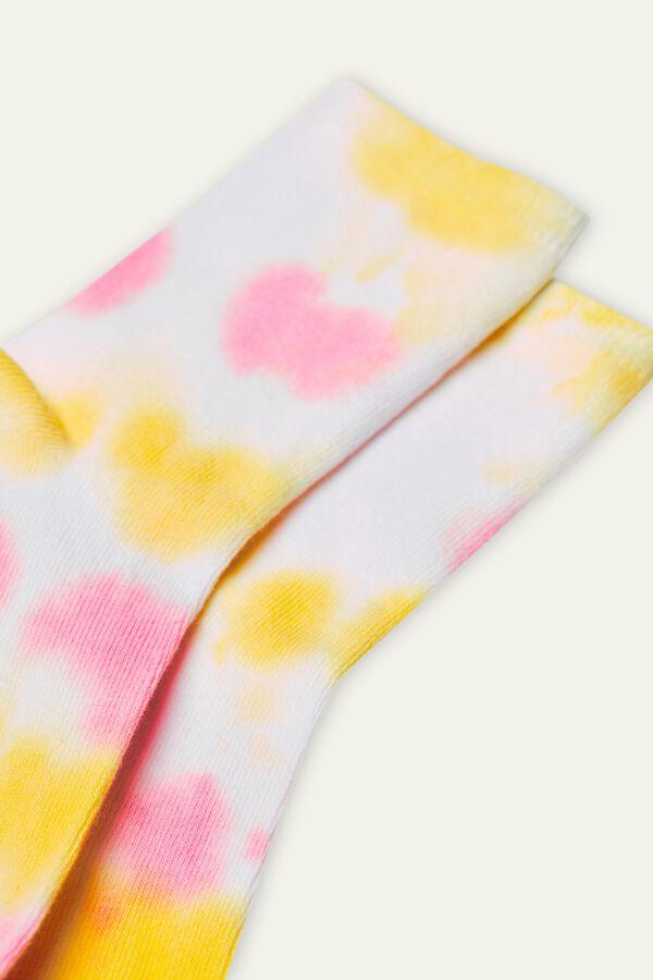 Krátké Ponožky z Prošívané Bavlny