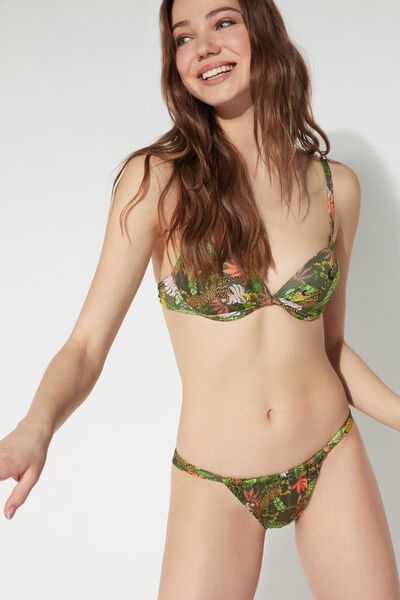Jungle Safari Brazilian Bikini Bottoms