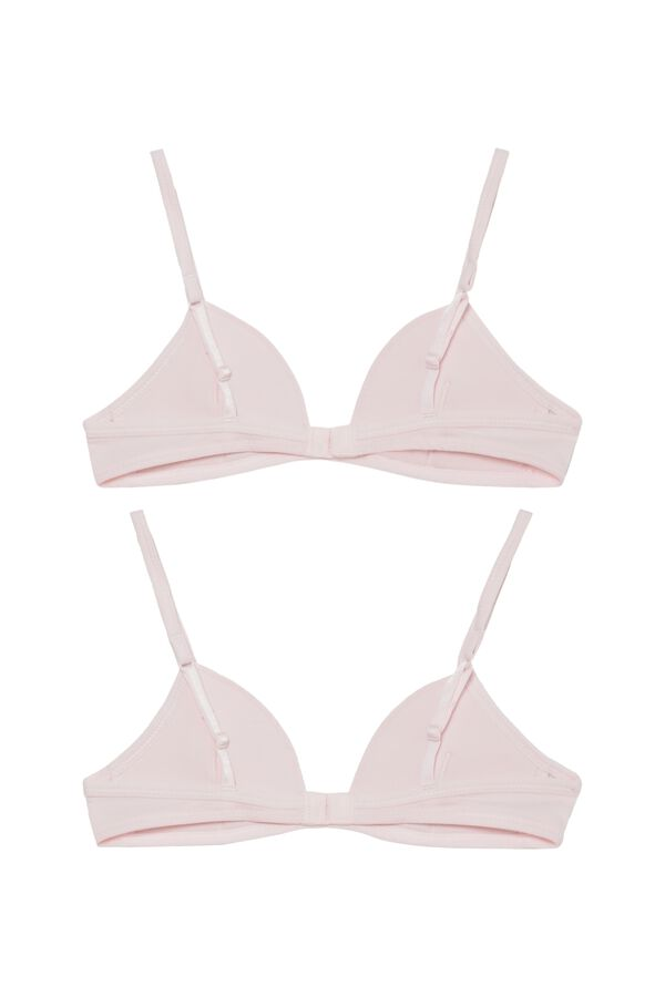 2 X Basic Triangle Bra Multipack