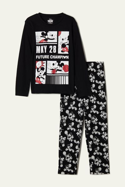 Pyjama Long Coton Mickey Mouse « Future Champion »