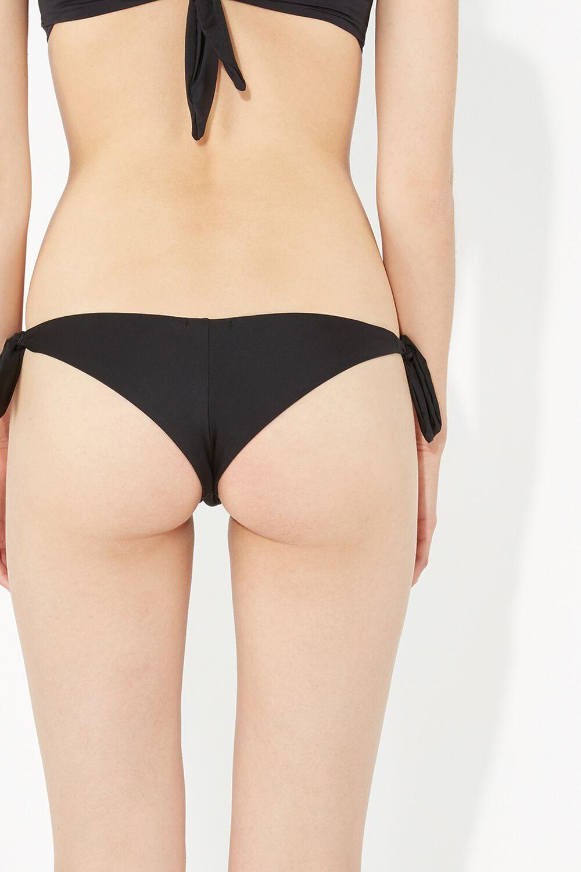 Bikini Brasileño Lazos Liso