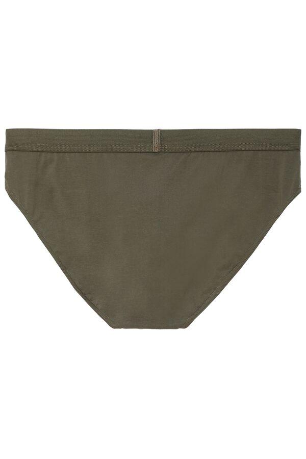 Slip en Coton Elastique