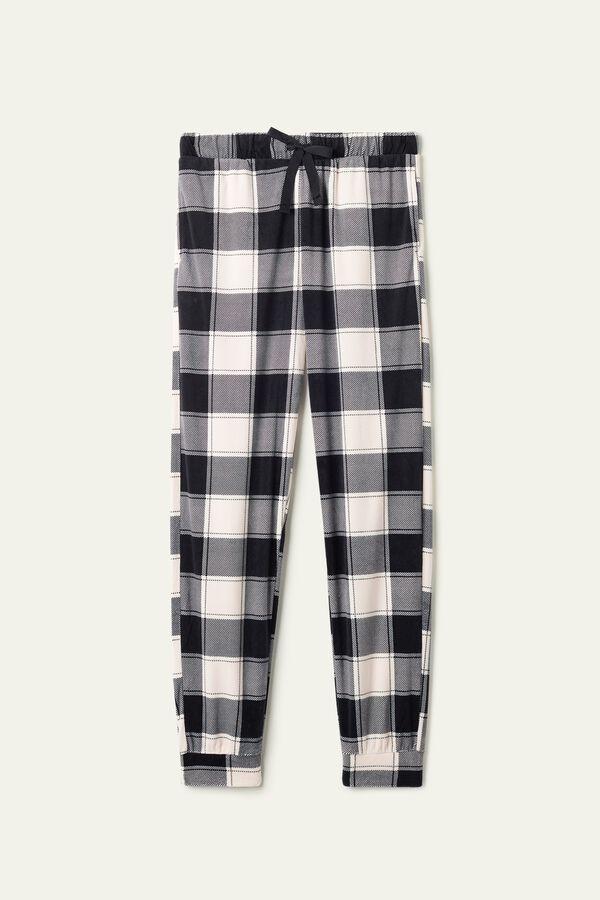 Pantalon Long Maille Polaire