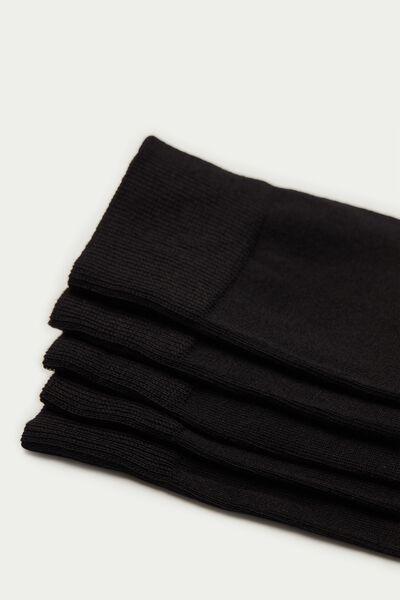 5 Paires de Chaussettes Basses Coton Léger