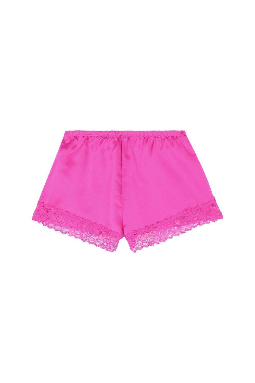 Lace and Satin Shorts