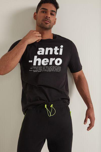 T-shirt en Coton Imprimé