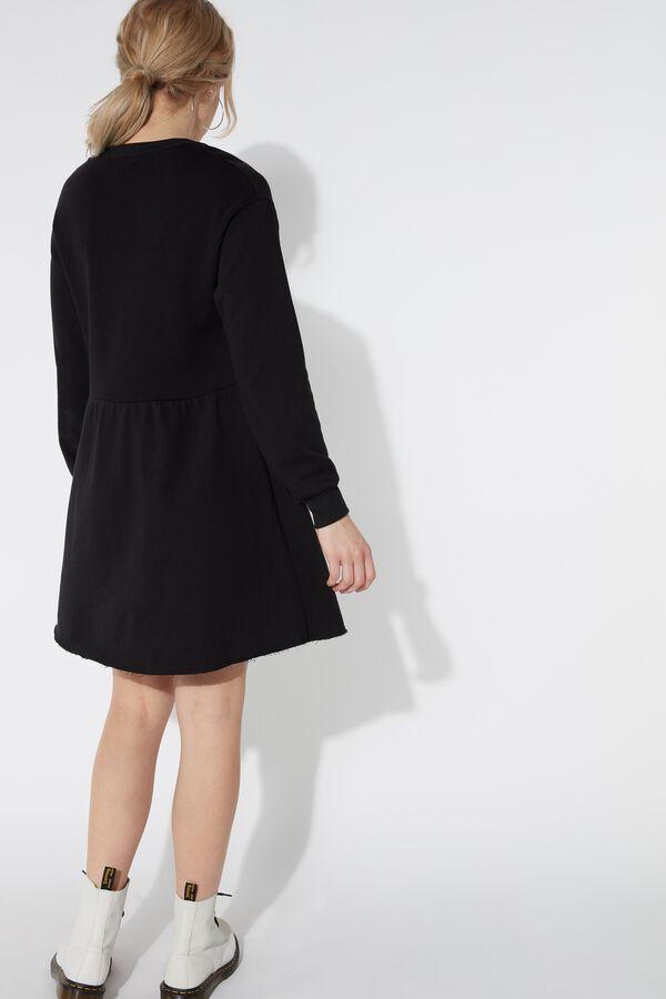 Long Sleeve Dress in Fleece