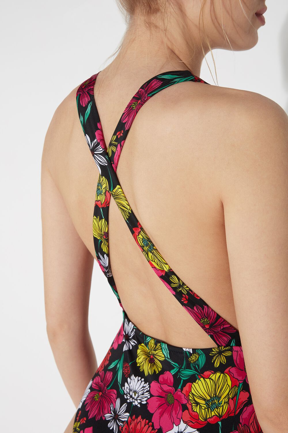 One-Piece Spring Blossom Swimsuit