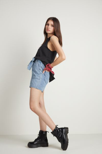 Long Cotton Camisole with Vents
