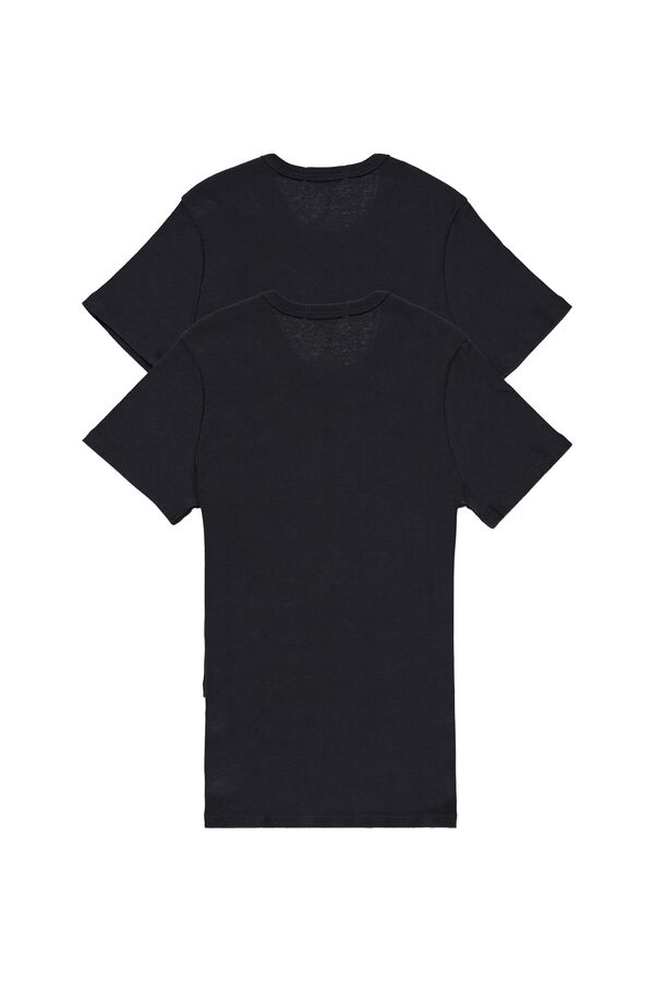2 kurzärmlige Rippshirts Multipack