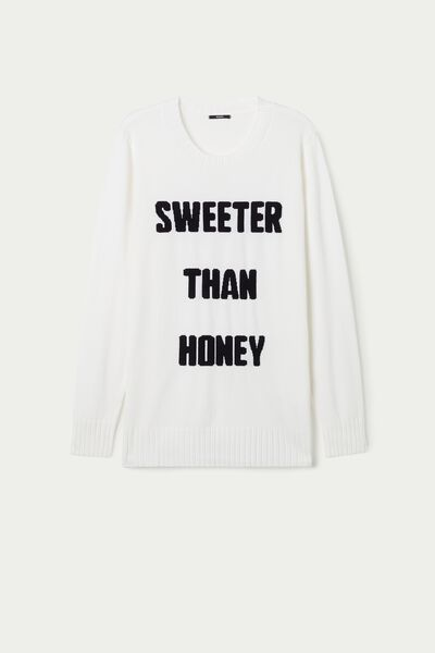 Long Sleeve Lettering Top