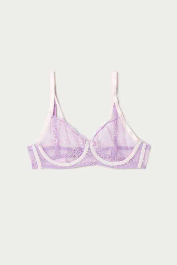 Soft Lace Balconette Bra