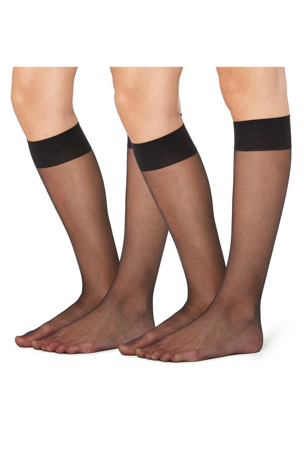 2 X 20 Den Appearance Sheer Knee-Highs