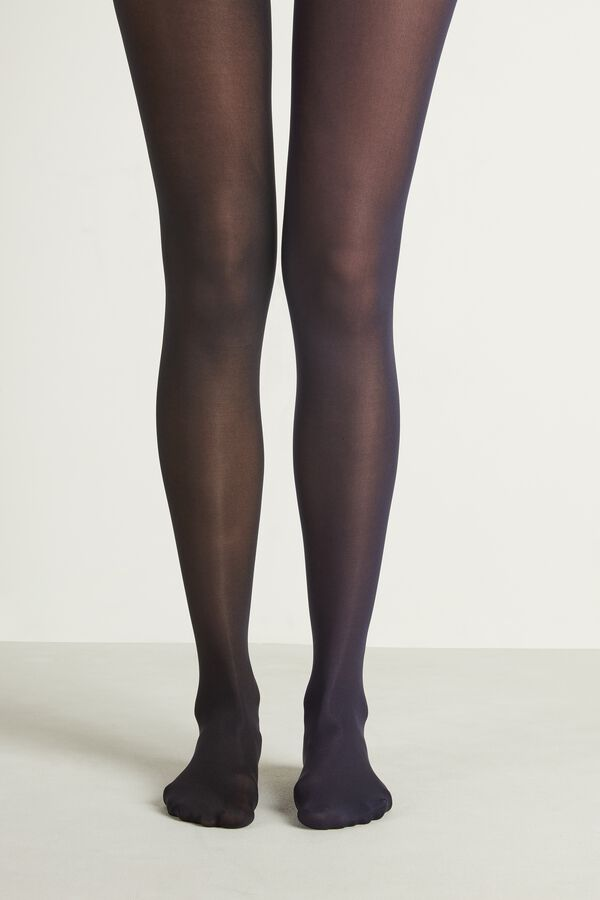 2 X 50 Den Opaque Microfiber Tights