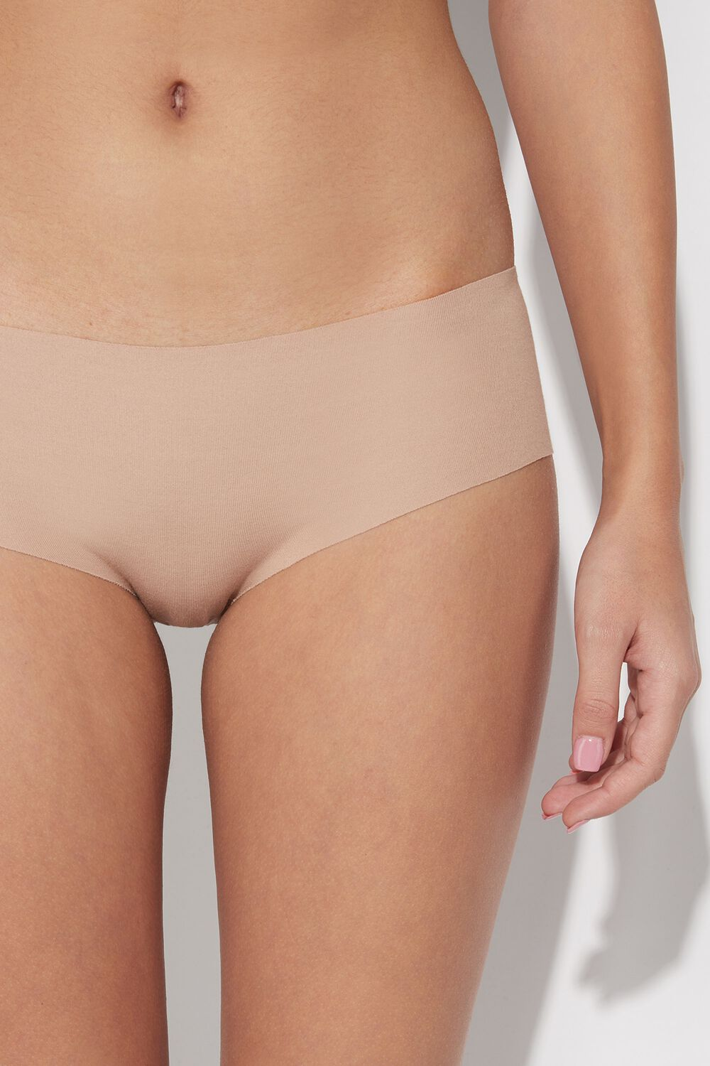 Laser Cut Cotton French Panties