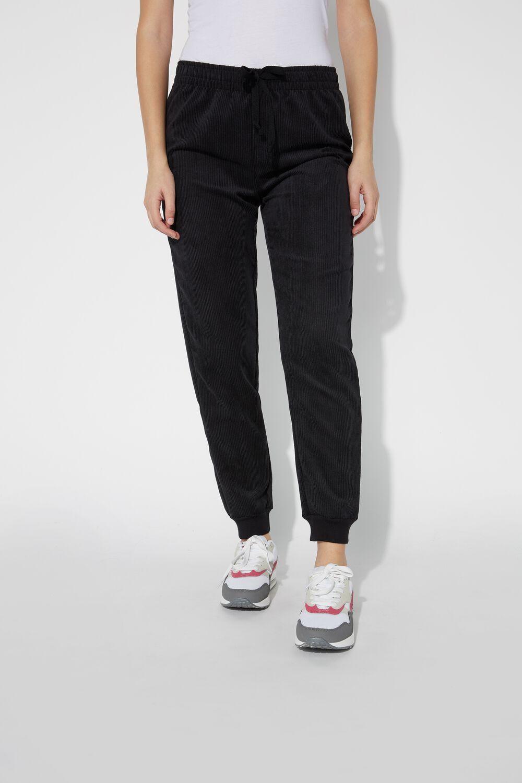 Ribbed Velvet Sweatpants