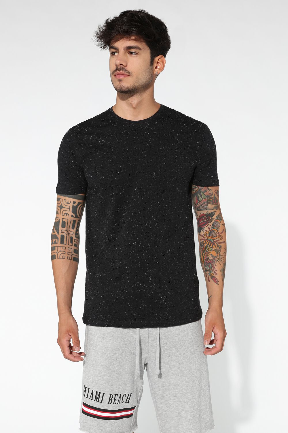 Regular-Fit Round-Neck T-Shirt