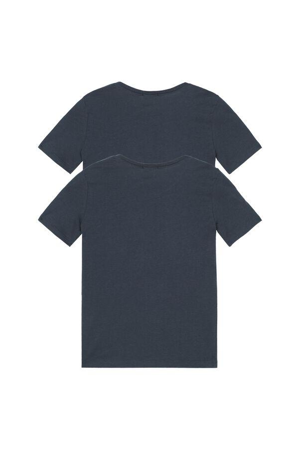 2 X Multipack de Camiseta de Manga Corta de Jersey Unisex